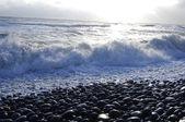 Beautiful ocean, seacape, — Stock Photo