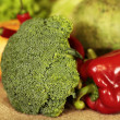 Stock Photo: Broccoli and vegetables