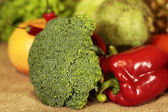 Broccoli and vegetables — Stock Photo