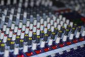 Sound mixer controller — Stock Photo