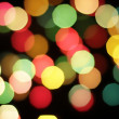 Defocused colored  lights — Stock Photo