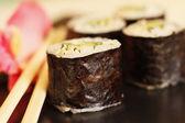 Rolled sushi — Stock Photo