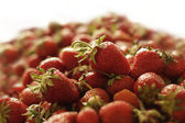 A lot of fresh strawberries — Stock Photo