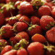 Stock Photo: Fresh strawberries background