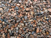 Gravel full frame background — Stock Photo