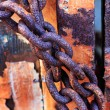 Stock Photo: Old rusty chains