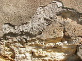Old textured wall background — Stock Photo