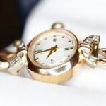 Gold watch — Stock Photo