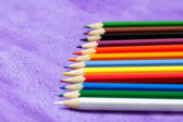 Multicolored pencils for drawing — Stock Photo