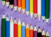 Multicolored pencils — Stockfoto