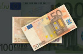 Banknotes, euros — Stock Photo