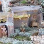 Italian Christmas crib — Stock Photo