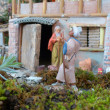 Italian Christmas crib — Stock Photo