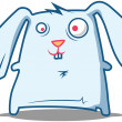 Silly Rabbit staring — Stock Vector #16853859