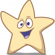 Royalty-Free Stock Imagem Vetorial: Star waving hello