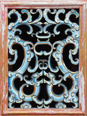Ancient chinese window decorative pattern — Foto Stock