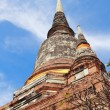 Ancient temple (Wat Yai Chai Mongkhol), Ayutthaya — Stock Photo