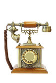 Old vintage telephone — Stock Photo