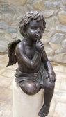 Estátua de cupido — Foto Stock