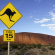 Stock Photo: Ayers Rock (Uluru) - Australia