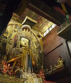 Boudhanath Monastery - Kathmandu - Nepal — Stock Photo