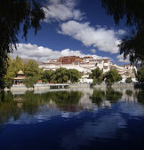 Tibet - Potala Palace - Lhasa — Stock Photo