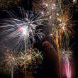 Stock Photo: Firework Display - Guy Fawkes Night - England