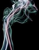 Smoke - Swirls of smoke or vapor — Stock Photo