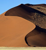 Namib Desert - Sossusvlei - Namibia — Stock Photo