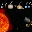 Solar System - The Planets — Stock Photo