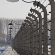 Birkenau Nazi Concentration Camp - Poland — Stock Photo