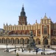 Krakow - Cloth Hall - Main Square - Poland — Stock Photo #16886709