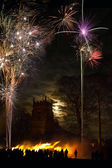 Firework Display - 5th November - England — Stock Photo