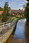 English Village - North Yorkshire - England — Stock Photo