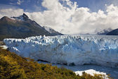 Perito moreno glaciären - patagonien - argentina — Stockfoto