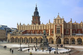 Krakow - Cloth Hall - Main Square - Poland — Stock Photo