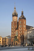 Cracow - Church of St Mary - Poland — Stock Photo