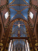 Krakow - Church of St Mary - Poland — Stock Photo