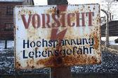 Obóz koncentracyjny auschwitz - polska — Zdjęcie stockowe