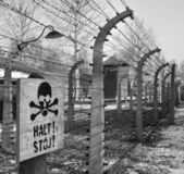 Camp de concentration d'auschwitz - pologne — Photo