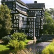 Stock Photo: Little Moreton Hall - England