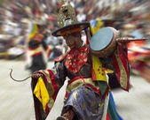 Paro Tsechu (Festival) - The Kingdom of Bhutan — Stock Photo