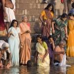 Hindu Ghats - Varanasi - India — Stock Photo