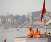 Pilgrims - Varanasi - India — Stock Photo