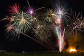 Fireworks Display - Guy Fawkes Night — Stock Photo