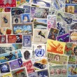 Stamp Collecting - Philately - Stock Photo