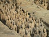 Terracotta Army - Xian - China — Stock Photo