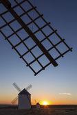 Sunset in La Mancha - Spain — Stock Photo
