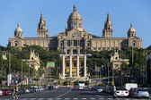 National Palace - Barcelona - Spain — Stock Photo