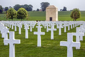 War Cemetery - La Somme - France — Stock Photo